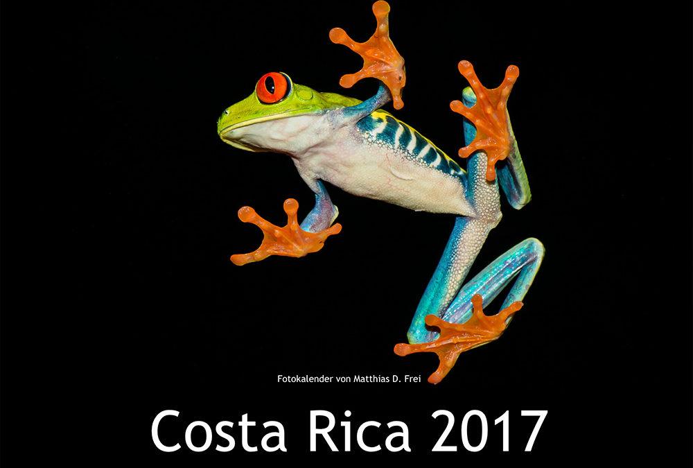 Fotokalender 2017 Costa Rica