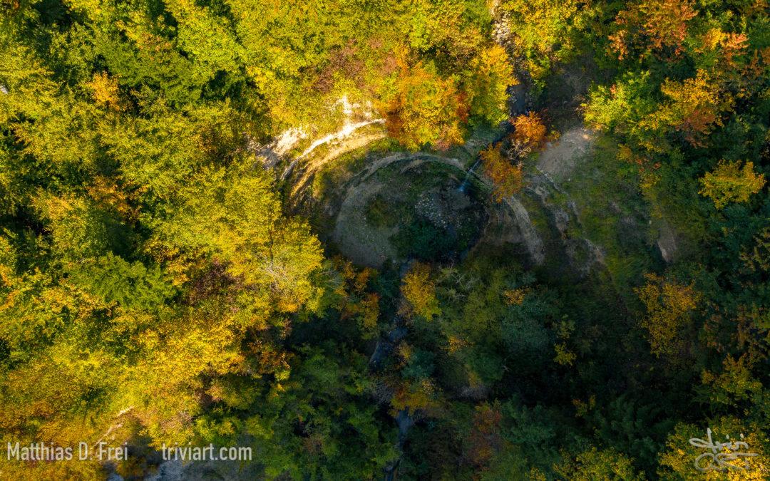 Wasserfall im Altwisertobel