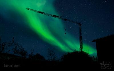 Spektakuläres Polarlicht über der Nordschweiz?