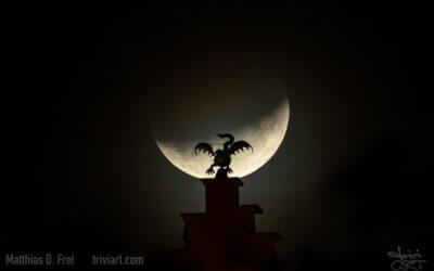 Partielle Mondfinsternis vom 16. auf den 17. Juli 2019