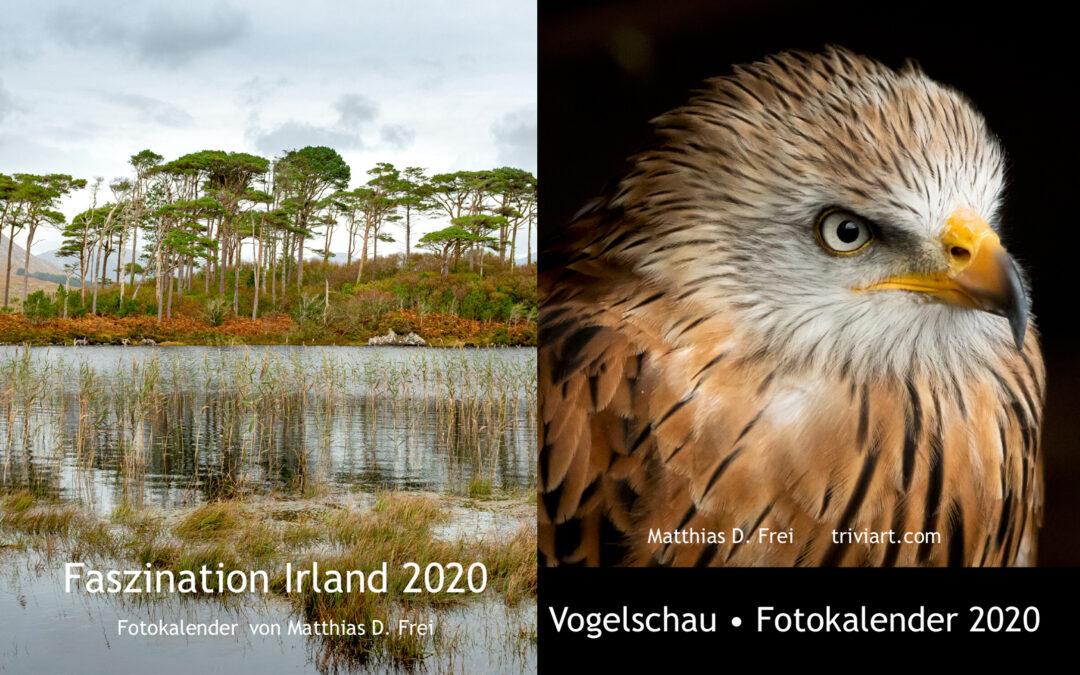 Die Fotokalender 2020 sind ab sofort erhältlich!