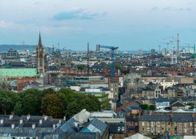 Blick über Dublin